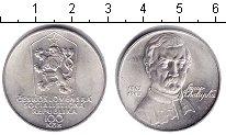 Изображение Мелочь Чехословакия 100 крон 1983 Серебро XF Само Чалупка.