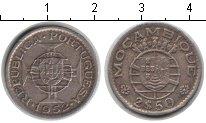 Изображение Мелочь Мозамбик 2 1/2 эскудо 1952 Медно-никель XF