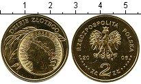 Изображение Мелочь Польша 2 злотых 2006 Медно-никель UNC 10 золотых 1932 года