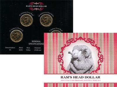 Изображение Подарочные монеты Австралия 1 доллар 2001 Медно-никель UNC