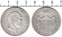 Изображение Монеты Липпе-Детмольд 1 талер 1860 Серебро VF Пауль Фридрих Эмиль
