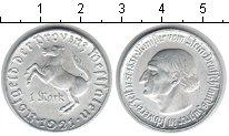 Изображение Монеты Вестфалия 1 марка 1921 Алюминий XF Минилтер фон Штейн.