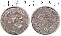 Изображение Монеты Пруссия 1 талер 1860 Серебро XF Фридрих Вильгельм IV