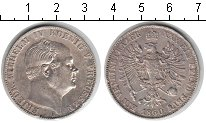 Изображение Монеты Пруссия 1 талер 1860 Серебро XF