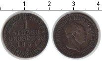 Изображение Монеты Пруссия 1 грош 1854 Серебро VF Фридрих Вильгельм IV