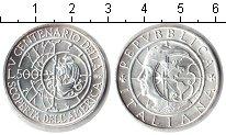 Изображение Монеты Италия 500 лир 1990 Серебро Proof