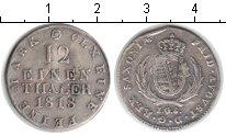 Изображение Монеты Германия Саксония 1/12 талера 1818 Серебро