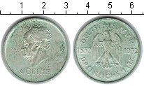 Изображение Монеты Веймарская республика 3 марки 1932 Серебро XF