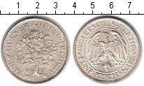 Изображение Монеты Веймарская республика 5 марок 1927 Серебро