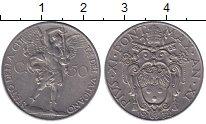 Изображение Мелочь Ватикан 50 сентесим 1932 Медно-никель  Пий XI.