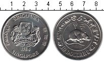 Изображение Мелочь Сингапур 10 долларов 1984 Медно-никель UNC-