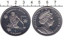 Изображение Мелочь Остров Мэн 1 крона 2013 Медно-никель UNC- Олимпийские игры 201