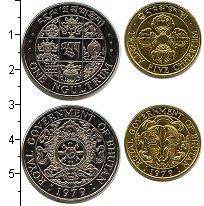 Изображение Наборы монет Бутан Бутан 1979 1979  UNC В наборе 2 монеты но