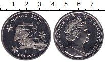 Изображение Мелочь Остров Мэн 1 крона 2013 Медно-никель UNC- Елизавета II. Сочи 2