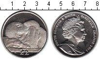 Изображение Мелочь Сендвичевы острова 2 фунта 2013 Медно-никель UNC- Южные Сандвичевы ост