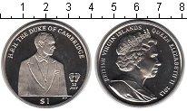 Изображение Мелочь Виргинские острова 1 доллар 2013 Медно-никель UNC