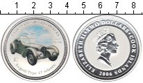 Изображение Монеты Острова Кука 2 доллара 2006 Серебро Proof- Елизавета II. Автомо