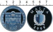 Изображение Монеты Мальта 10 евро 2009 Серебро Proof- Кастеллания.