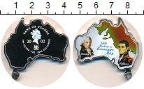 Изображение Монеты Уганда 5000 шиллингов 2002 Серебро Proof Мэтью Флиндерс.