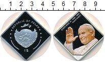 Изображение Монеты Палау 1 доллар 2007 Посеребрение Proof-