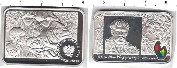 Картинка Монеты Польша 20 злотых Серебро 2004