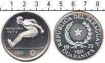 Изображение Монеты Парагвай 150 гарани 1972 Серебро Proof-
