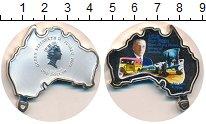 Изображение Монеты Тувалу 1 доллар 2003 Серебро UNC Авиация Австралии.