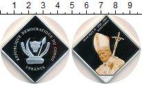 Изображение Монеты Конго 5 франков 2005 Посеребрение Proof-