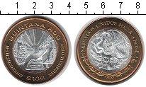 Изображение Мелочь Мексика 100 песо 2007 Биметалл UNC-