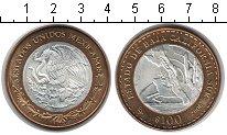Изображение Мелочь Мексика 100 песо 2006 Биметалл UNC- Гербы мексиканских ш