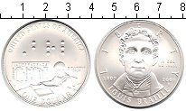 Изображение Монеты США 1 доллар 2009 Серебро UNC- Луис Брайле