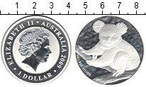 Изображение Монеты Австралия 1 доллар 2009 Серебро Proof- Коала.