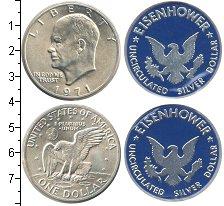 Изображение Наборы монет США США 1971 1971 Серебро  В наборе 1 монеты но