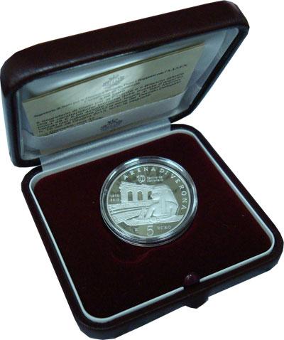 Изображение Подарочные монеты Сан-Марино Арена в Вероне 2013 Серебро Proof