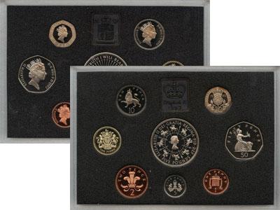 Изображение Подарочные монеты Великобритания Выпуск 1993 года 1993  Proof