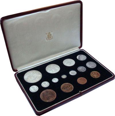 Изображение Подарочные монеты Великобритания Выпуск 1937 года 1937  Proof Подарочный набор Вел
