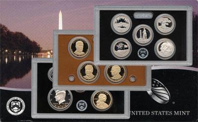 Изображение Подарочные монеты США Пруф- сет 2013 года 2013  Proof