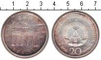 Изображение Монеты ГДР 20 марок 1990 Медно-никель XF Бранденбургские воро