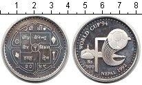 Изображение Монеты Непал 500 рупий 1992 Серебро Proof- Чемпионат мира по фу