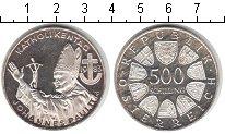 Изображение Монеты Австрия 500 шиллингов 1983 Серебро UNC- Иоанн Павел II.