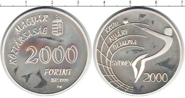 Картинка Монеты Венгрия 2.000 форинтов Серебро 1999