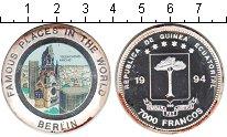 Монета Экваториальная Гвинея 7000 франков Серебро 1994 Proof- фото
