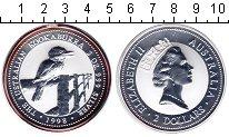 Изображение Монеты Австралия 2 доллара 1998 Серебро UNC-