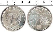 Изображение Мелочь Испания 20 евро 2010 Серебро UNC- <br>Хуан Карлос I и