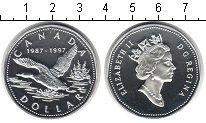 Изображение Монеты Канада 1 доллар 1997 Серебро Proof- Елизавета II.