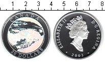 Изображение Монеты Канада 20 долларов 2003 Серебро Proof- Елизавета II.