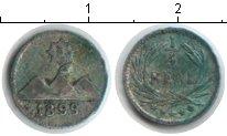 Изображение Монеты Гватемала 1/4 реала 1899 Серебро VF