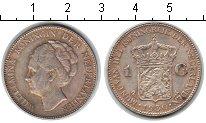 Изображение Мелочь Нидерланды 1 гульден 1930 Серебро