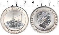 Изображение Монеты Австралия 10 долларов 1998 Серебро  Мельбурн.