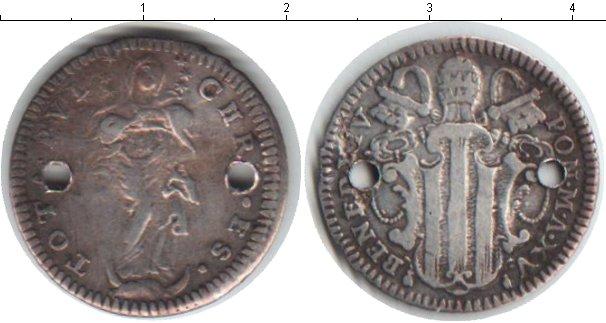 Картинка Монеты Ватикан 1 гроссо Серебро 0